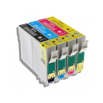Yellow 12ML Compa  Epson Stylus D78/D92/DX4000/SX218/SX610