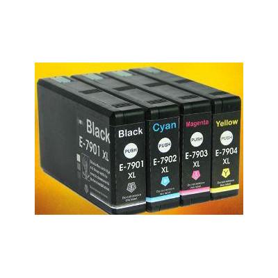 42ML Black DYE WF4630,4640,5110,5190,5620,5690-2.6K79XL