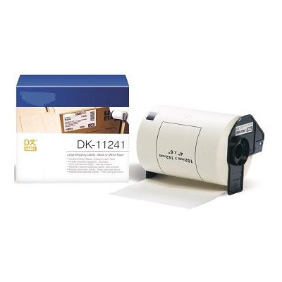 White 102mmX152mm 200ps for Brother P-Touch QL1000 1050 1060